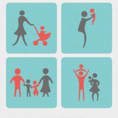 فرزند پروری با آموزش خانواده به کودکان
